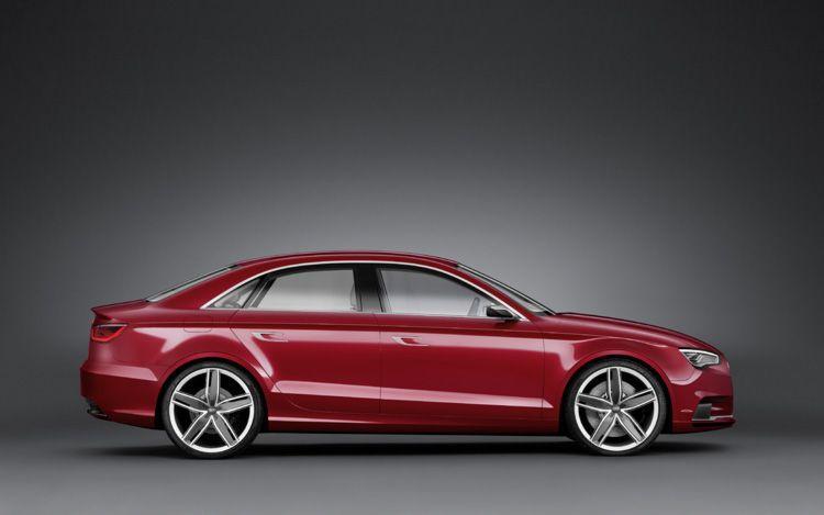 2013 Audi A3 Sedan Concept Leaked 2011 Geneva Motor Show