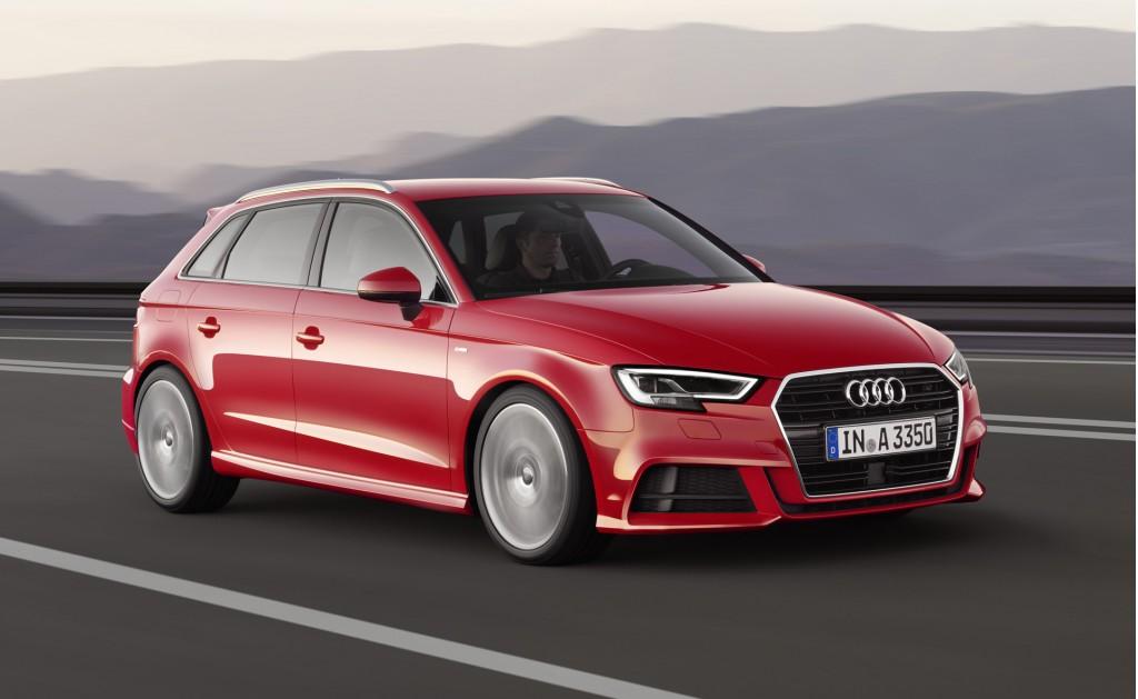 2017 Audi A3 Sportback (European spec)