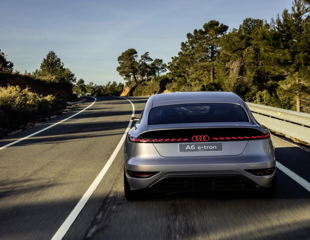 Audi A6 E-Tron Concept - 2021 Shanghai auto show