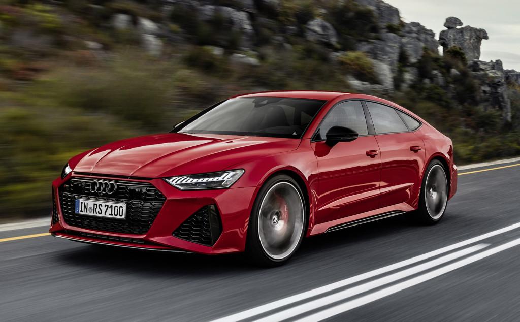 New Audi RS 7 Sportback debuts at Frankfurt auto show
