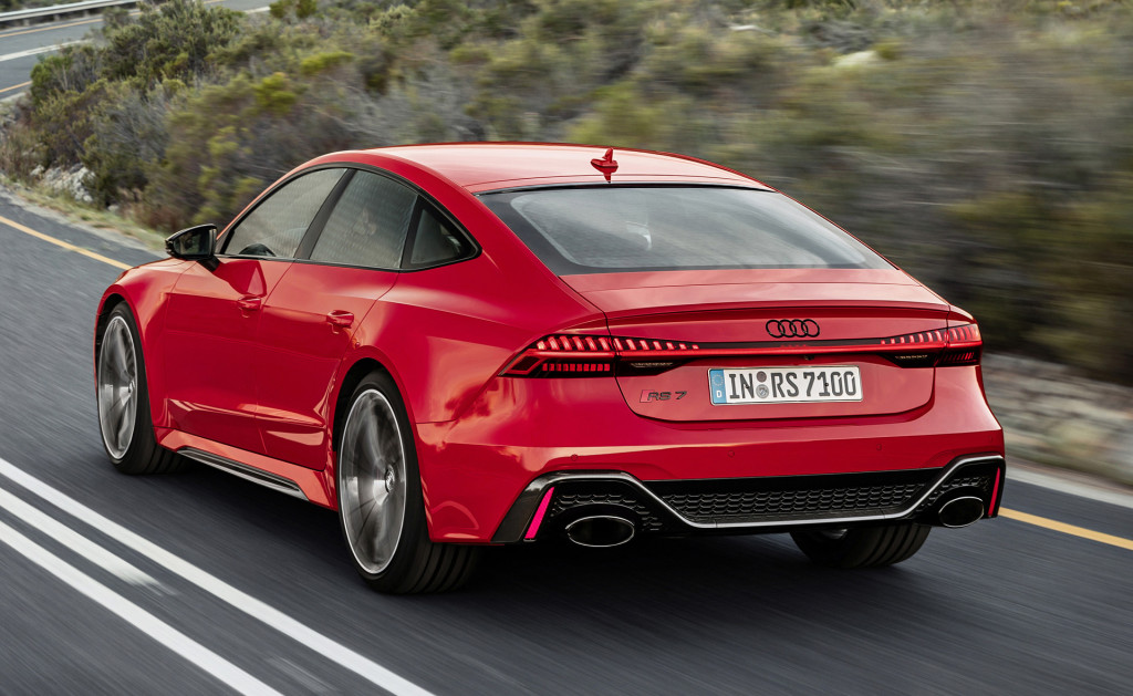 the 114995 2021 audi rs 7 will take you to 190 mph in