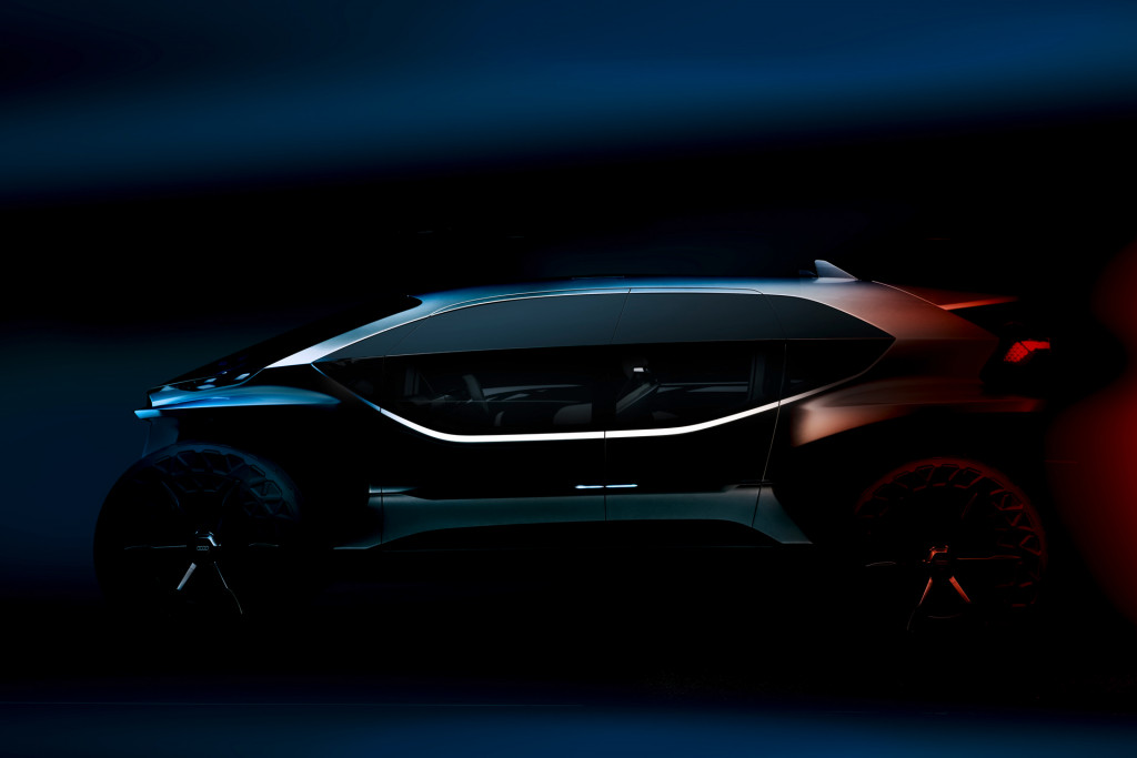 Audi AI:Trail quattro concept teased ahead of Frankfurt debut