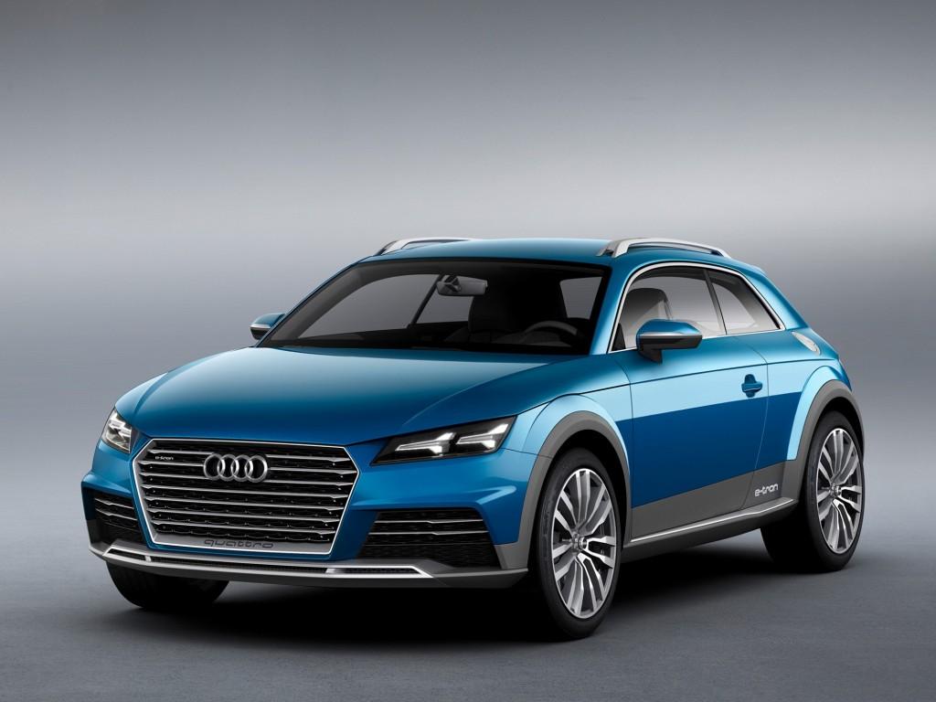 Audi Allroad Shooting Brake Concept leaked iamges