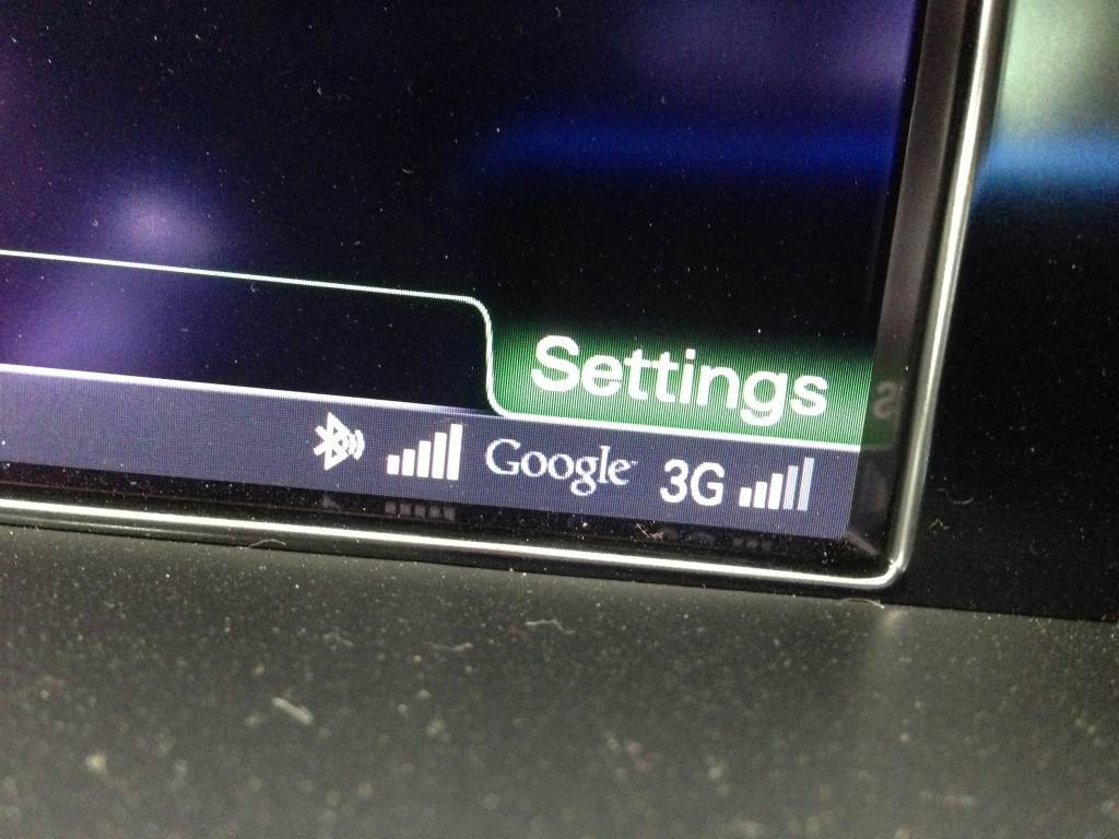 Audi Connect, and its always-on wireless hotspot  -  2013 Audi Allroad