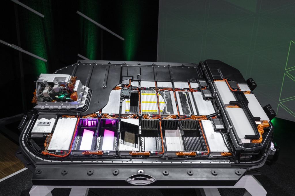 Audi E-Tron battery