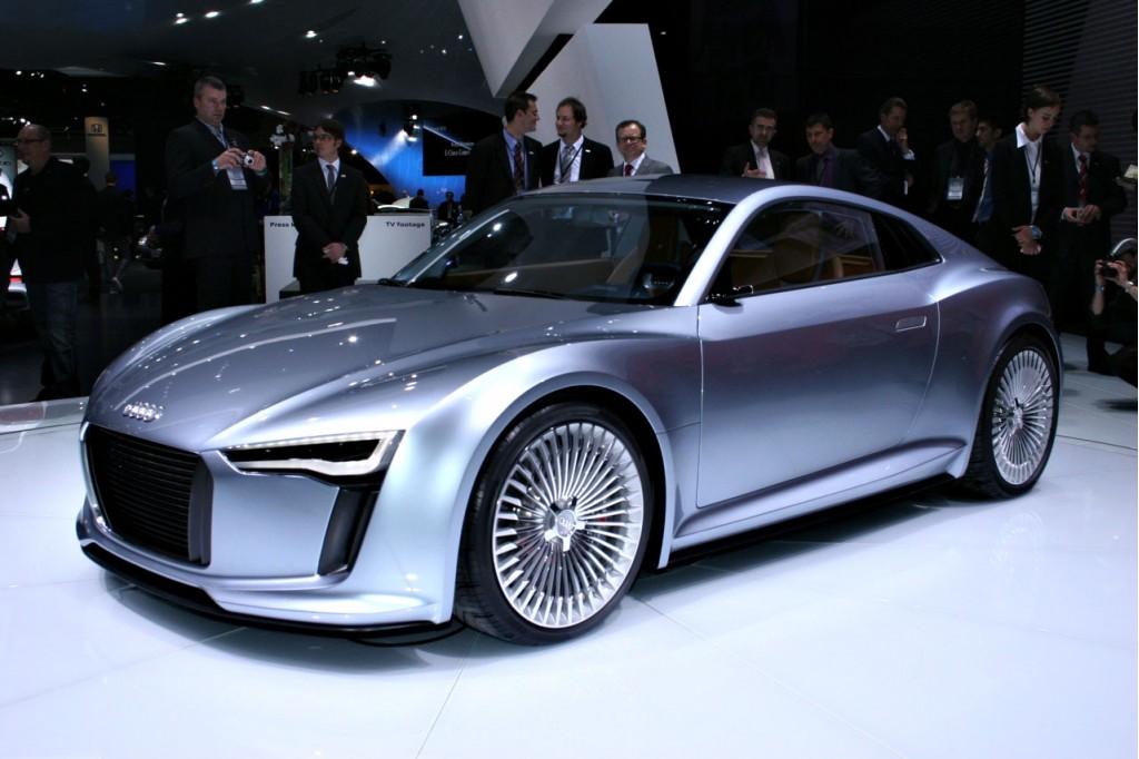 Audi e-tron Concept for 2010 Detroit Auto Show
