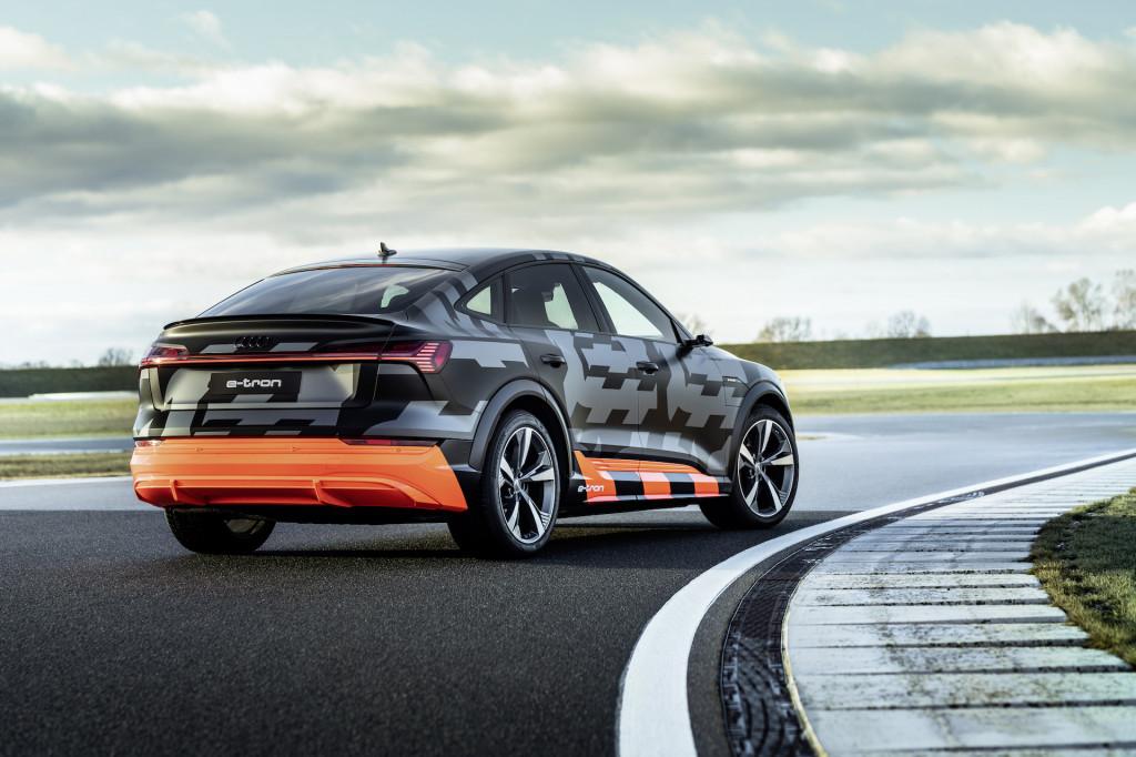 Audi E-Tron S first drive