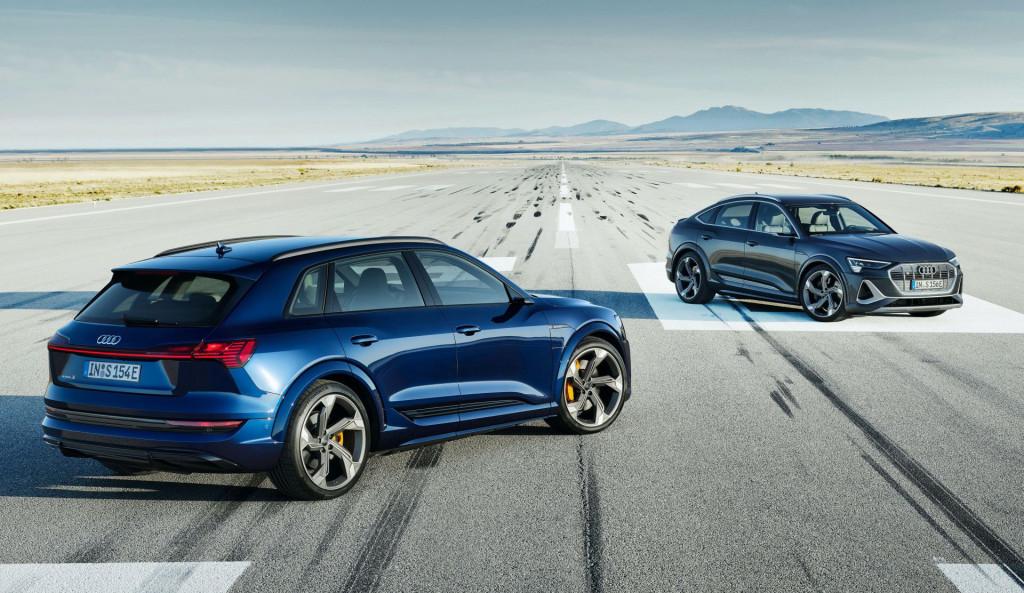 Audi E-Tron S and E-Tron S Sportback