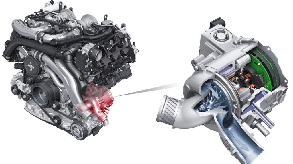 Audi electric turbocharger