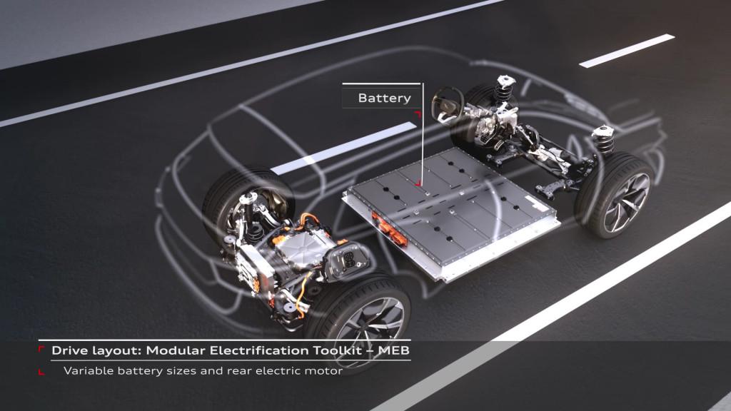 Audi MEB platform