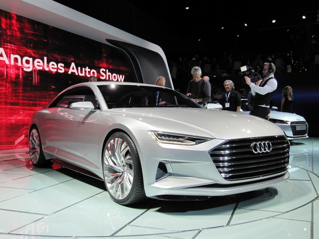 Audi Prologue Concept 2017 Los Angeles Auto Show