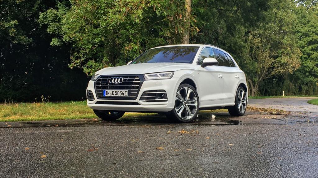 2020 Audi Q5 plug-in hybrid (Euro-spec) - first drive, October 2019