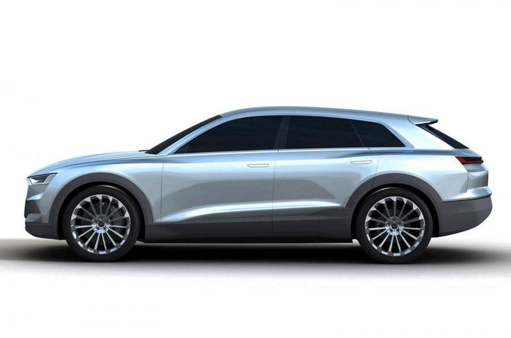 2018 audi electric suv. simple audi audi q6 etron electric suv to feature batteries from lg chem and samsung  sdi 2018 audi electric suv