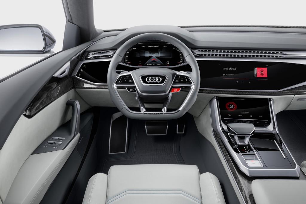 Audi Q8 concept, 2017 Detroit auto show