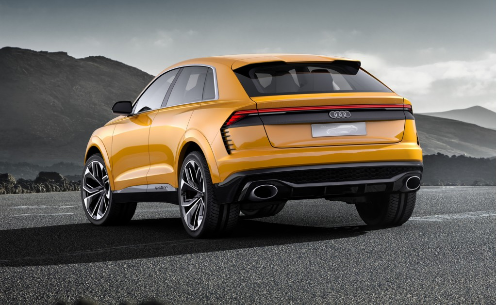 Audi will reveal the Q8 in Shanghai this June