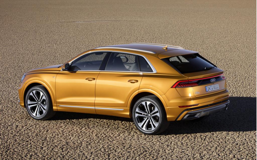 Audi Q8 first look: crossover SUVs über alles