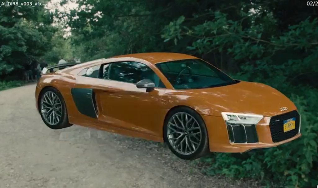 Addition Of New R8 In Avengers Age Of Ultron Will Be Done With Cgi Video