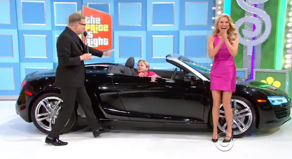The Price Is Right Contestant Wins Audi R8 Spyder