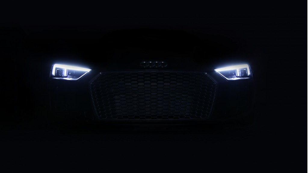 2018 Audi R8 V10 Plus laser headlights