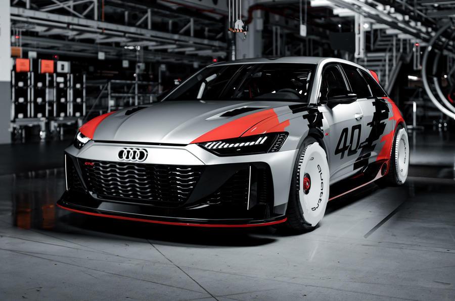 Audi RS 6 GTO concept pays homage to IMSA race car