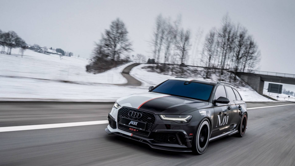 Jon Olsson reveals his new Audi RS 6+ Abt Avant