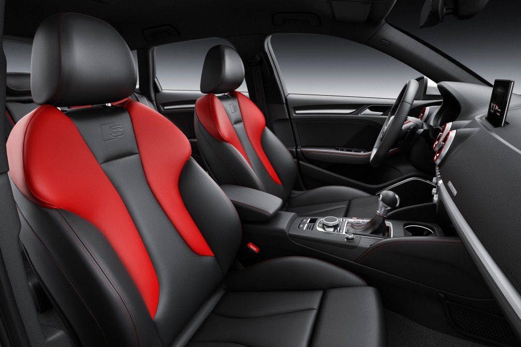 2017 Audi S3 Sportback (European spec)