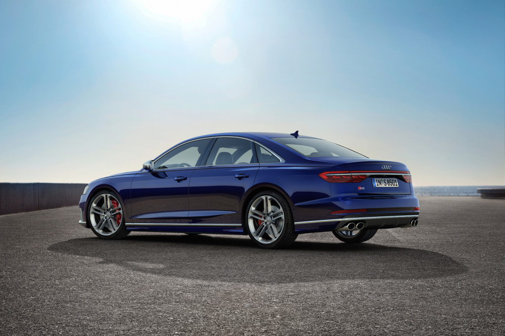 2020 Audi S8 (European version)