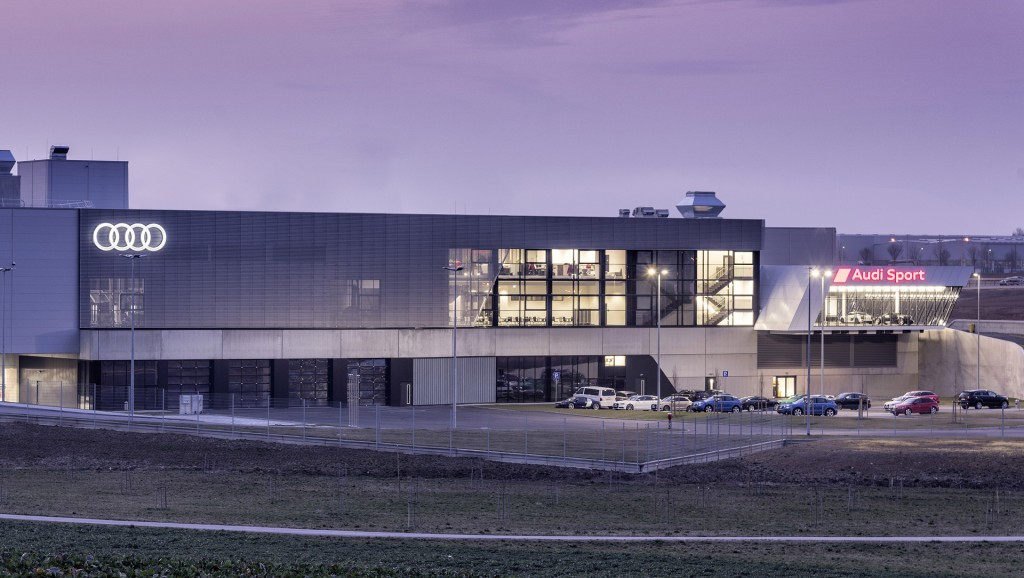 Audi Sport headquarters in Neckarsulm, Germany