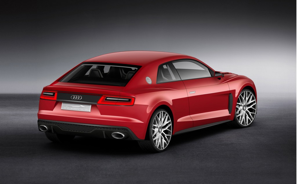 Audi Sport quattro concept with laser headlights, 2014 Consumer Electronics Show