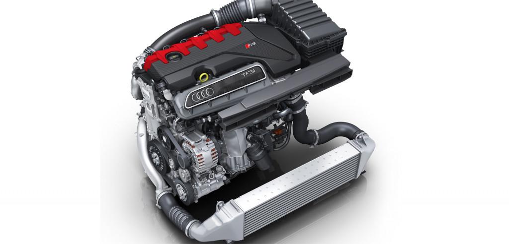 Audi Sport's 2.5-liter turbocharged inline-5