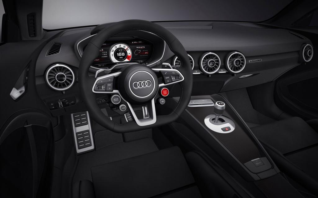 Audi TT quattro sport concept, 2014 Geneva Motor Show