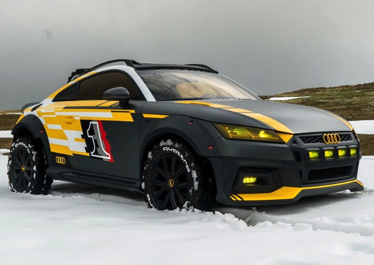 Audi Tt Safari Turns The Sport Coupe Into An Off Road Monster