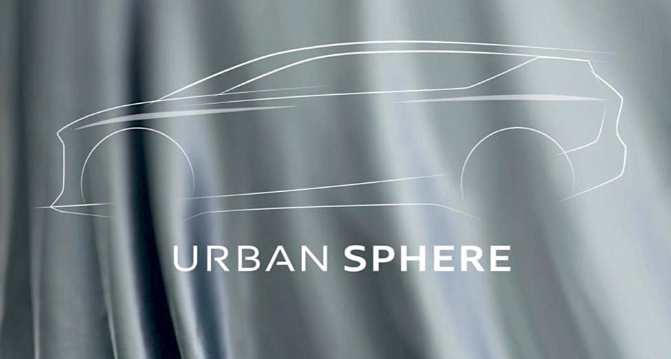 Audi Urban Sphere concept teaser