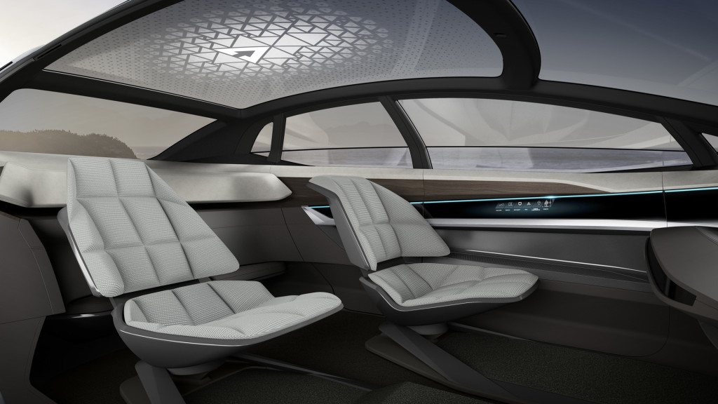 Audi Aicon self-driving car to hit the road in 2021