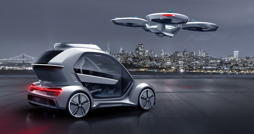 Audi joins Italdesign and Airbus on Pop.Up autonomous flying car project