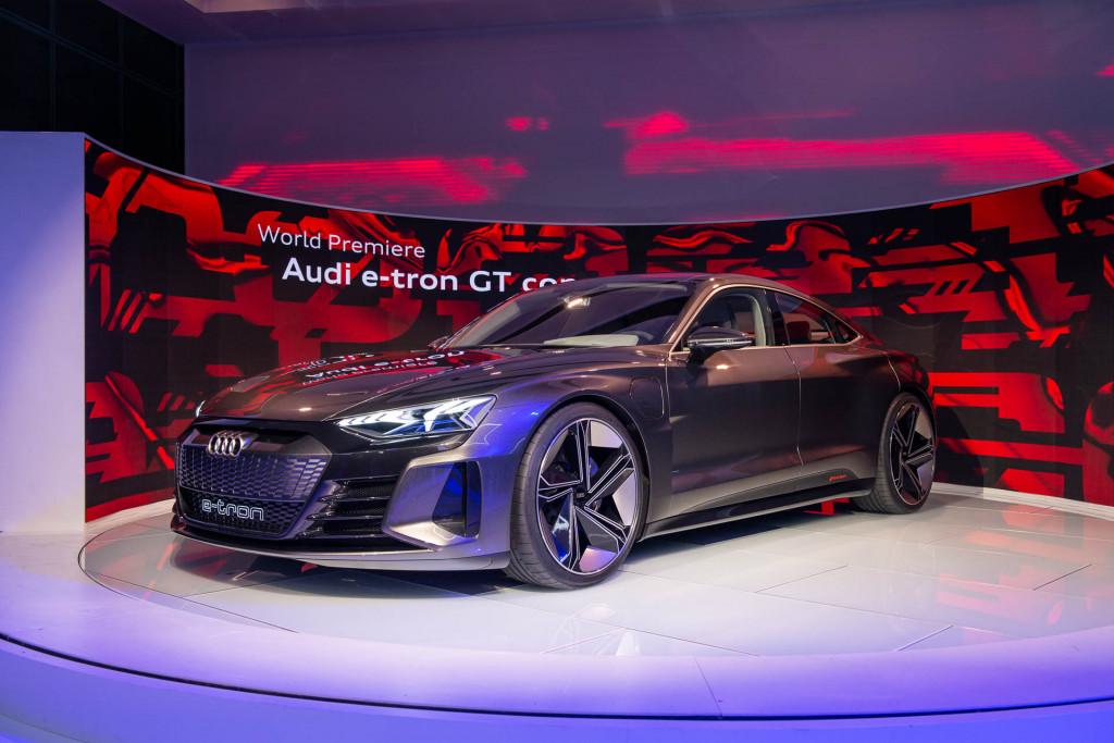 Audi e-tron GT Concept, 2018 LA Auto Show
