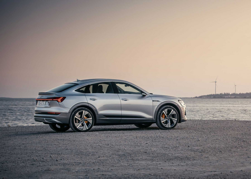 Audi E-tron Sportback revealed: Space makes way for style