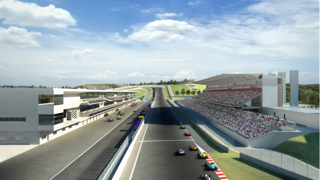 Austin's Circuit of the Americas - Image courtesy of McLaren