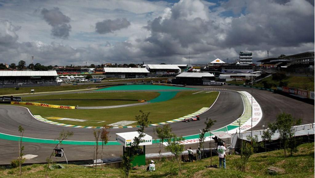 Autodromo Jose Carlos Pace in Interlagos, home of the Formula One Brazilian Grand Prix