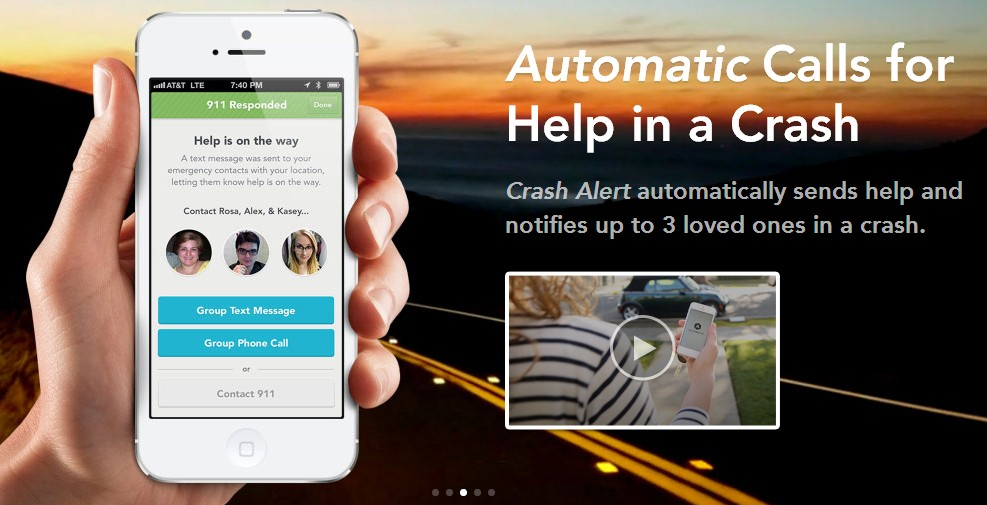 Automatic app for iPhone