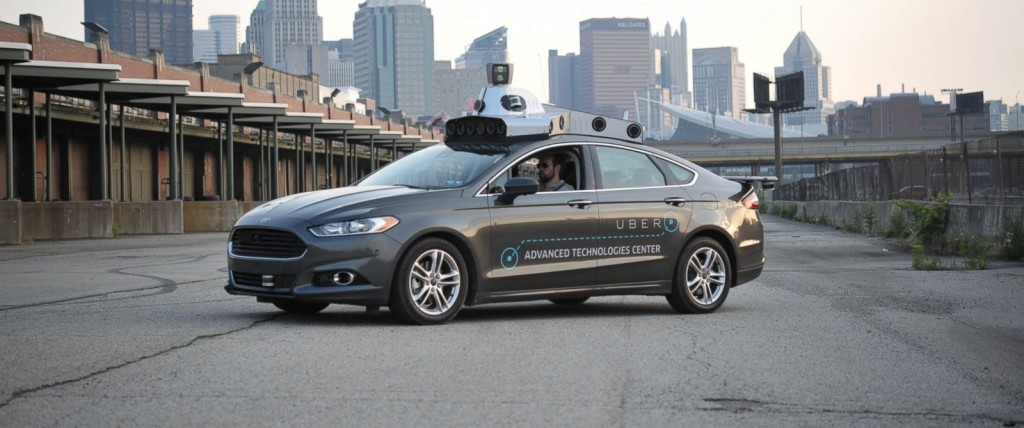 Uber's autonomous Ford Fusion prototype