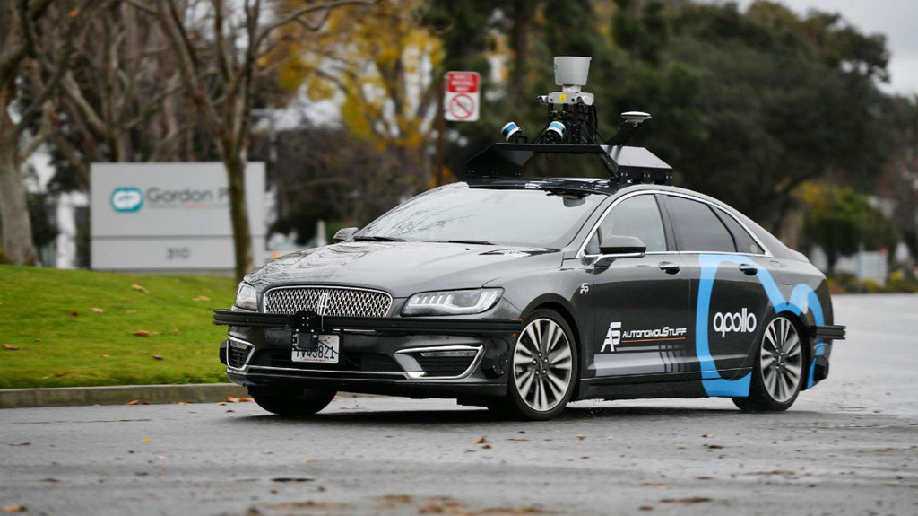 AutonomouStuff self-driving prototype running Baidu Apollo 2.0 software