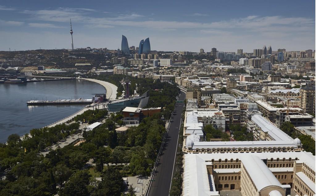 Baku City Circuit, home of the Formula One Azerbaijan Grand Prix