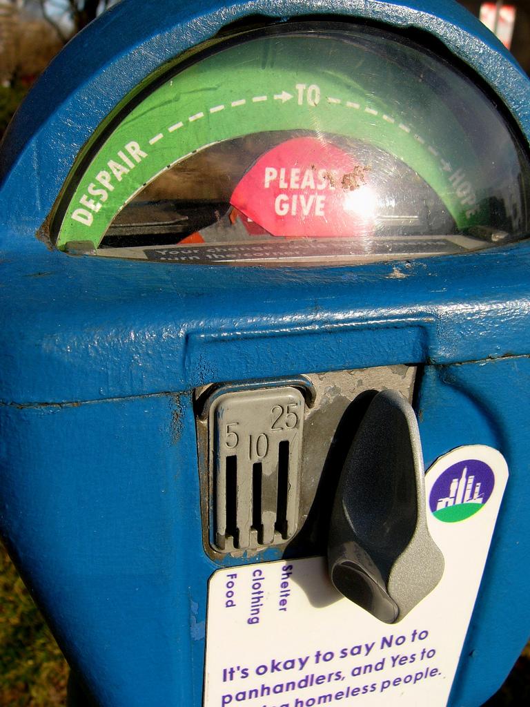 Baltimore parking meter  -  flickr user ktylerconk