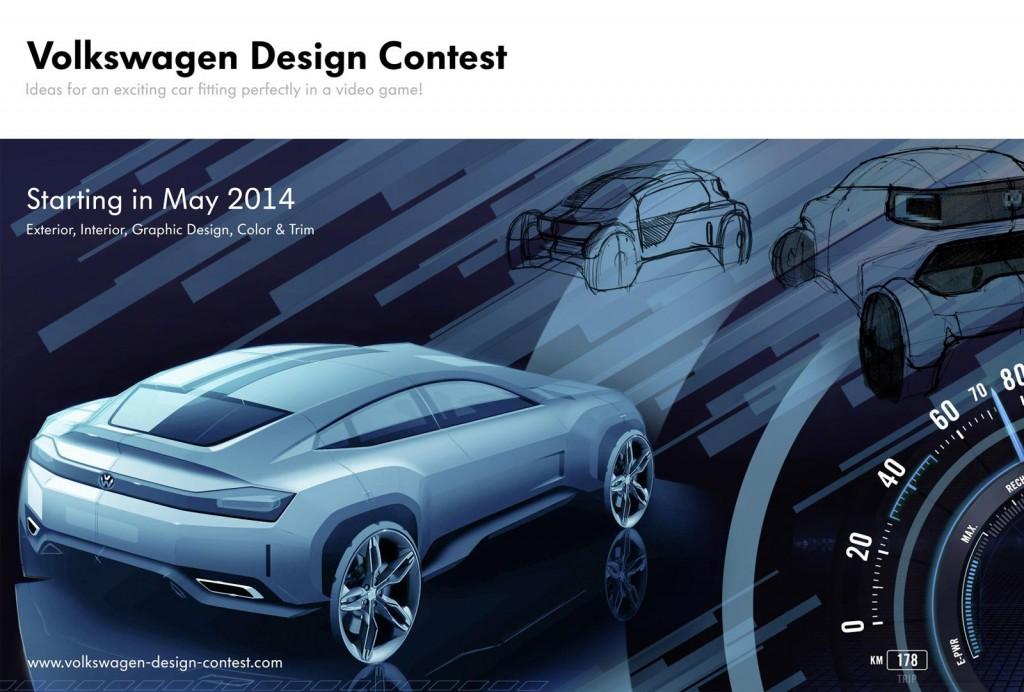Banner for Volkswagen design contest