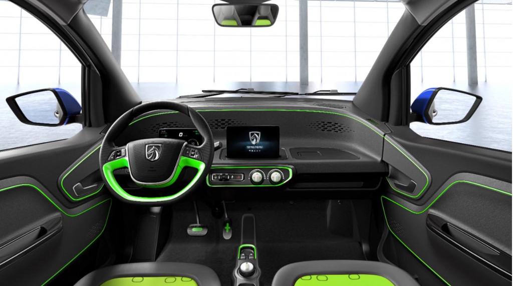 Baojun E100 electric car