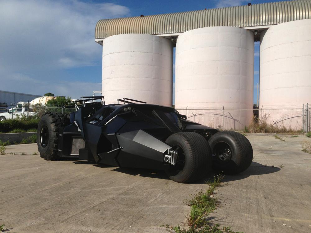 Batman Tumbler replica.