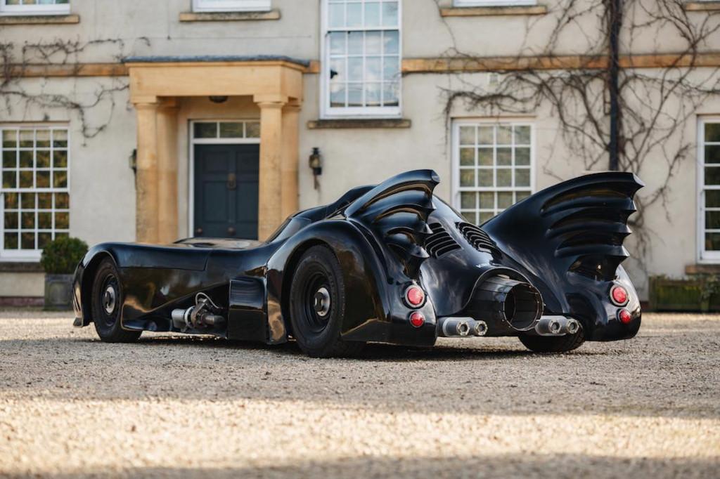 Batmobile recreation (Photo by Bonhams)