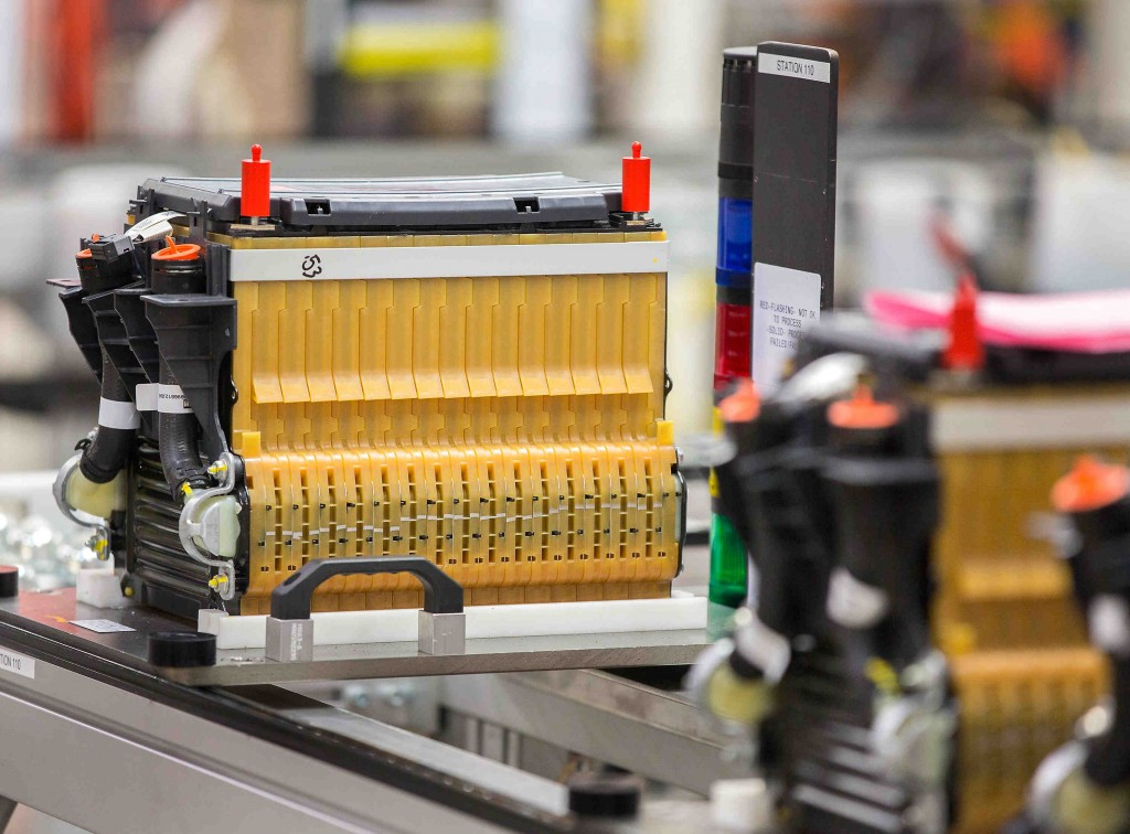 Battery Pack Assembly For Chevrolet Spark Ev Electric Car At Gms Brownstown Michigan Plant L