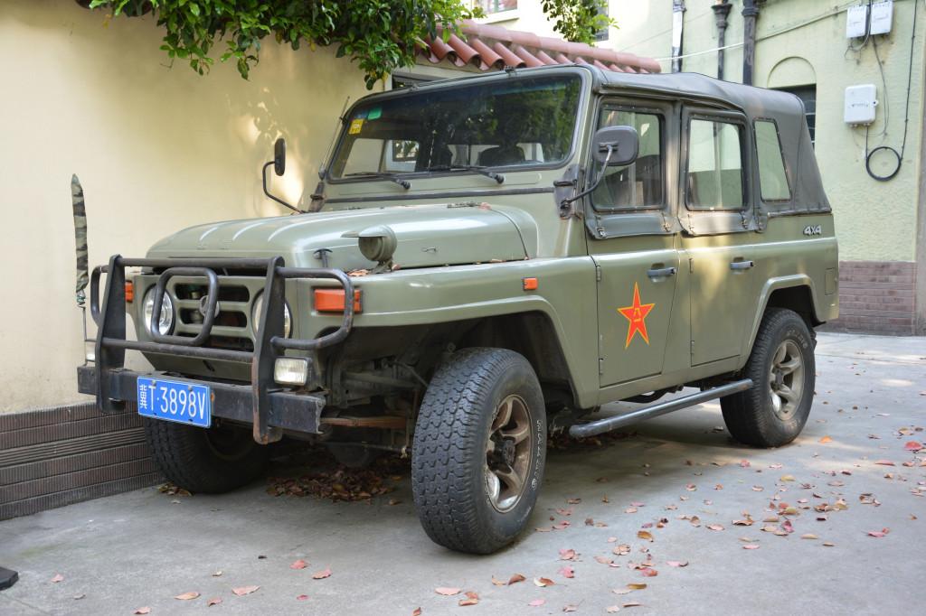 Beijing Jeep BJ2020, photo by Ronan Glon